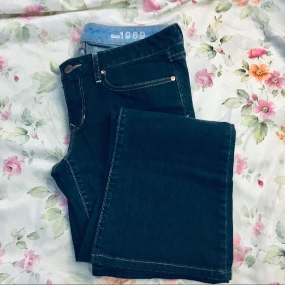 GAP Denim - 29/8L Gap 1969 Curvy Boot Cut Jeans Dark Wash NWT